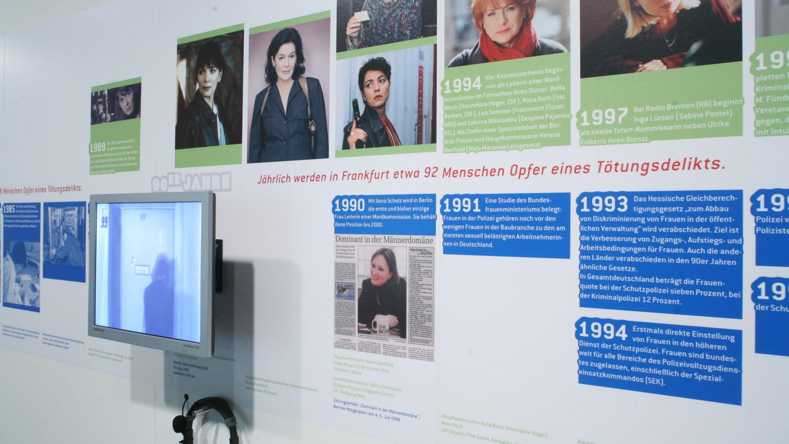 Sonderausstellung 2005 Die Kommissarinnen