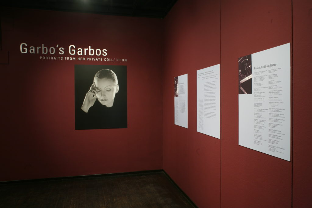 Sonderausstellung 2005 Garbo's Garbos. Portraits from her Private Collection