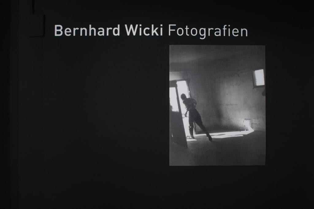 sonderausstellung 2005 Bernhard Wicki Fotografien