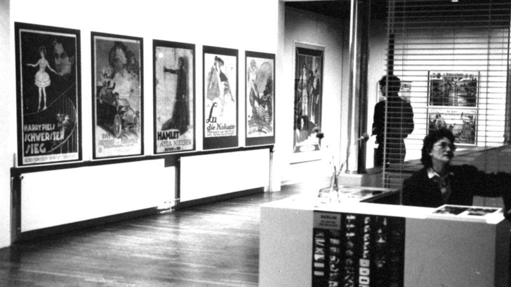 Ausstellung 1988 Plakate aus der Stummfilmzeit