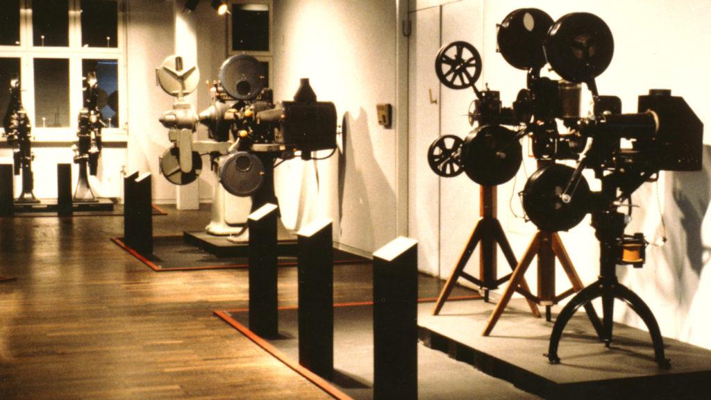 Ausstellung 1988 Projektoren