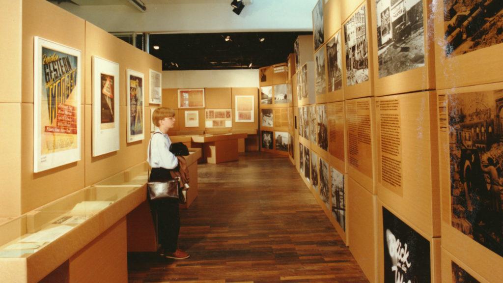 Ausstellung 1989 Zwischen Gestern und Morgen.