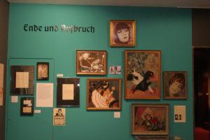 Sonderausstellung 2007 Asta Nielsen - Galerieausstellung