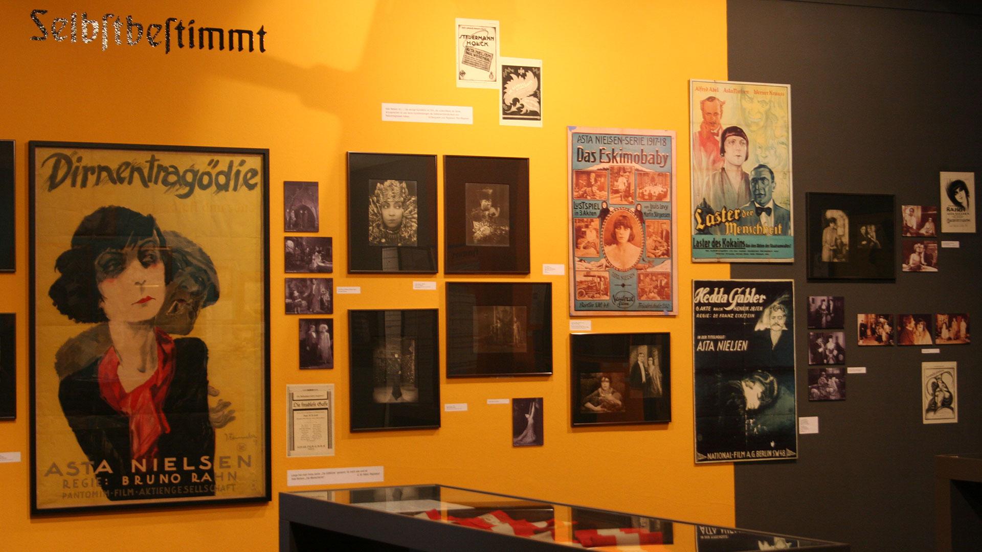 Galerieausstellung Asta Nielsen