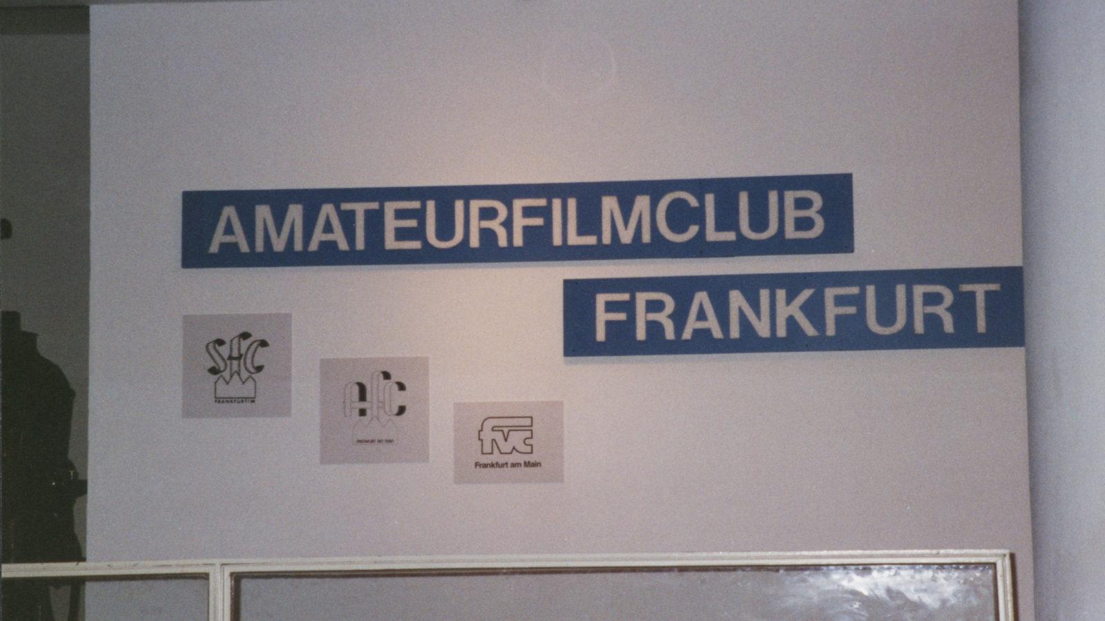 Sonderausstellung 2001 75 Jahre Film- u.Videoclub FFM