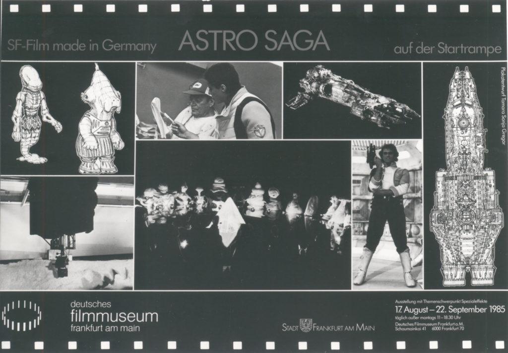 Ausstellung 1985 Astro Saga