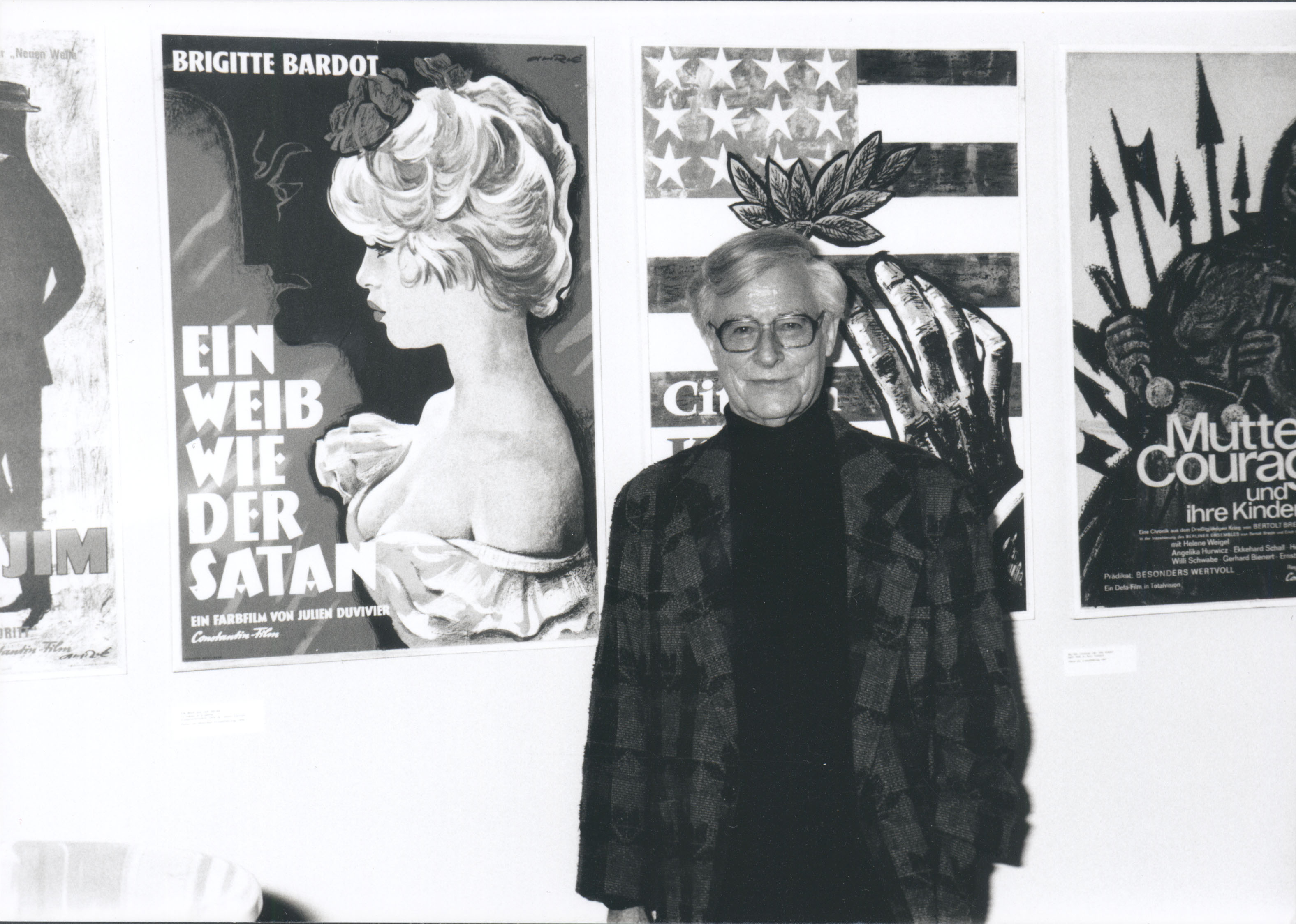 Ausstellung 1995 Ferry Ahrlé: Plakate und Porträts aus der Welt des Films
