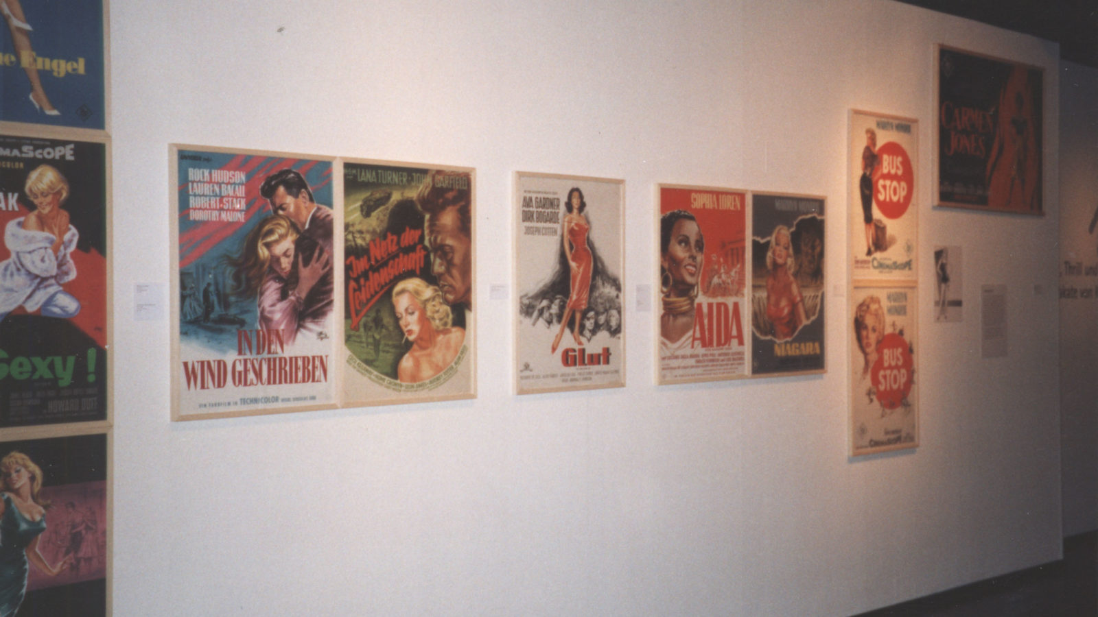 Ausstellung 1998 Action, Thrill und Leidenschaft – Filmplakate von Klaus Dill