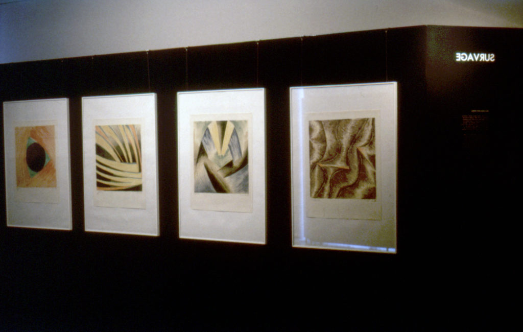 Ausstellung 1988 Avantgarde und experiment