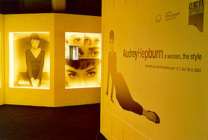 Sonderausstellung 2001 Audrey Hepburn - a woman, the style