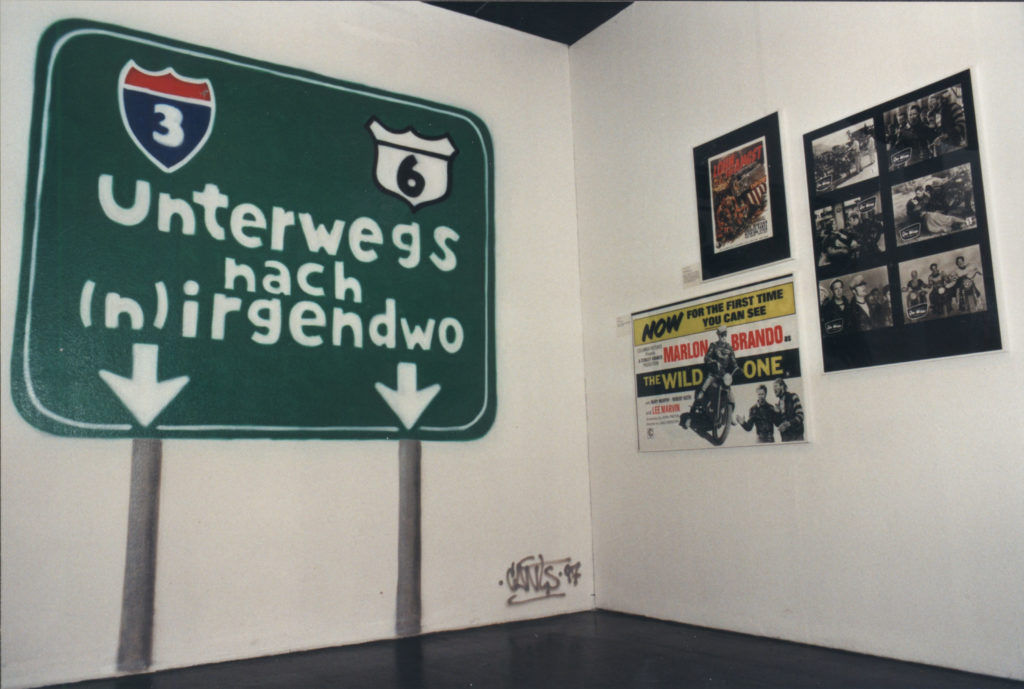 Ausstellung 1997 Unterwegs nach (n)irgendwo – Road Movies der sechziger bis neunziger Jahre
