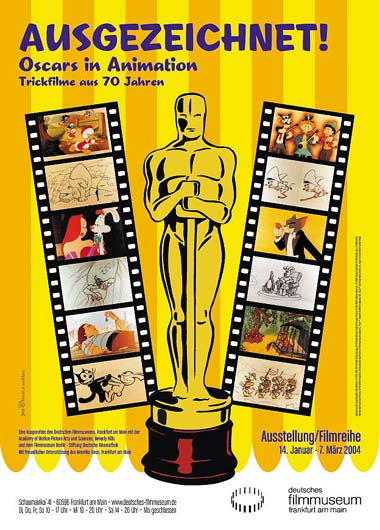 Ausgezeichnet! Oscars in Animation. Trickfilme aus 70 Jahren
