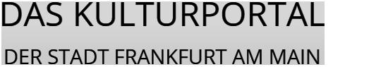 KulturPortal Frankfurt