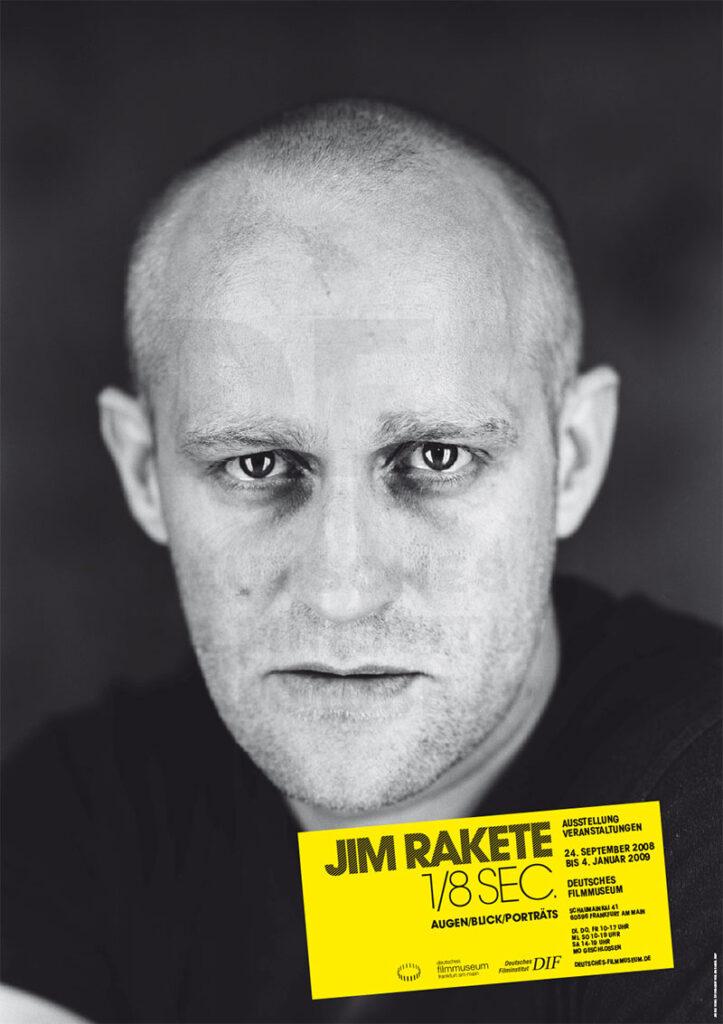 Jürgen Vogel. Copyright: Jim Rakete. Aus der Ausstellung Jim Rakete: 1/8 sec. im Deutschen Filmmuseum, Frankfurt am Main