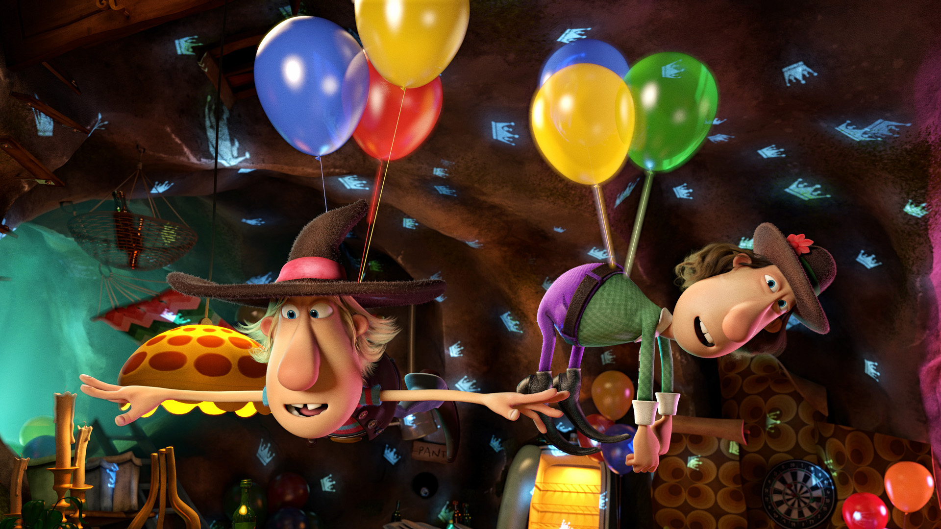 Filmstill Zwei Freunde und ihr Dachs