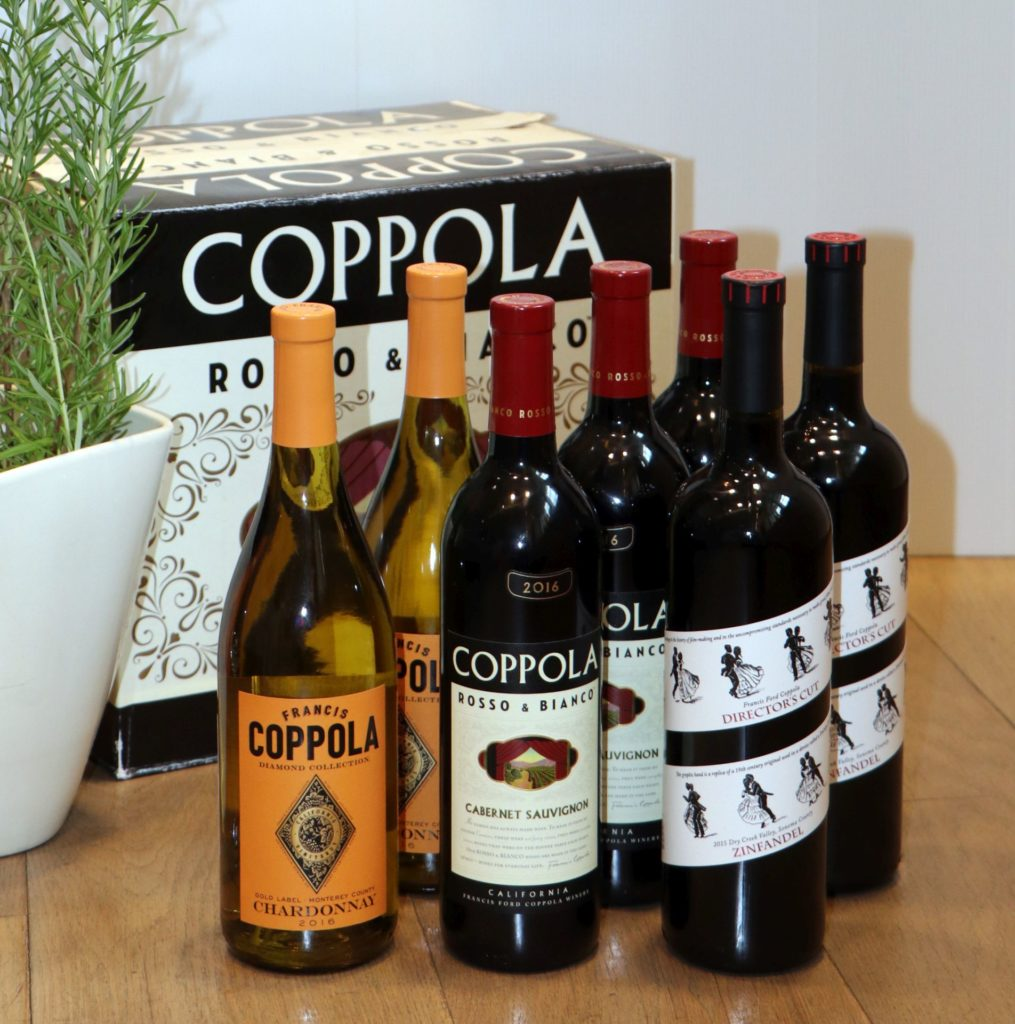 Wein aus der Francis Ford Coppola Collection