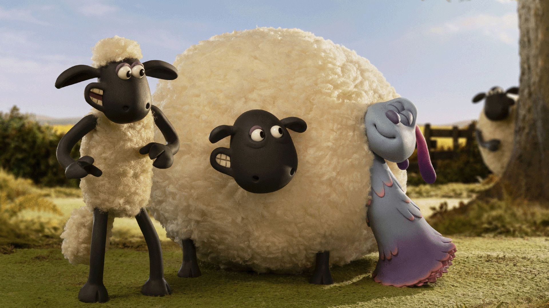 Filmstill Shaun das Schaf