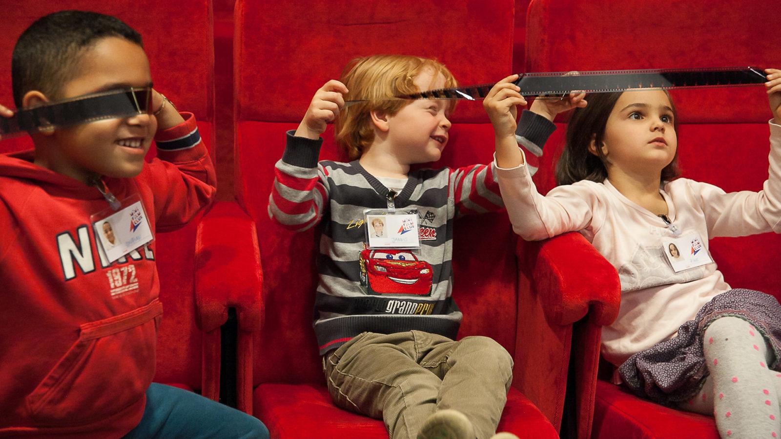 Kids im Kino des DFF