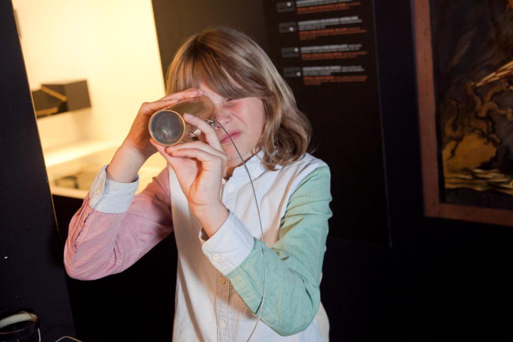 Foto Kaleidoskop in der Dauerausstellung