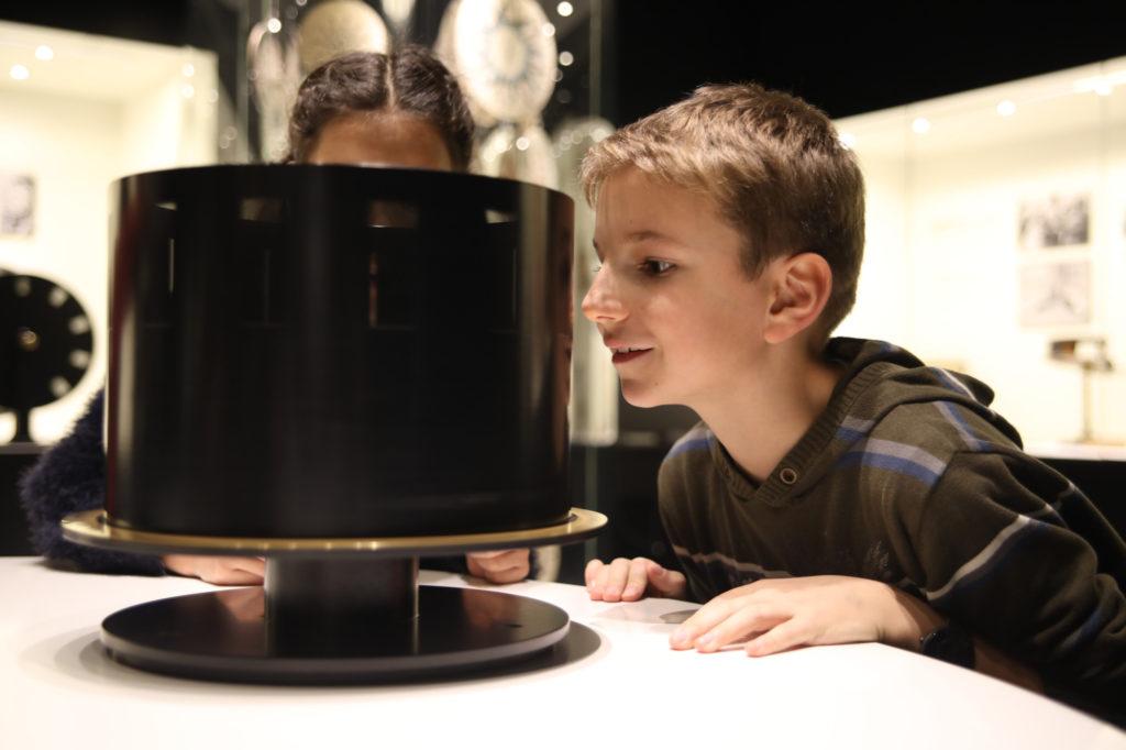 Foto Wundertrommel in der Dauerausstellung
