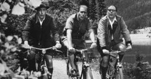 Filmstill Immer die Radfahrer