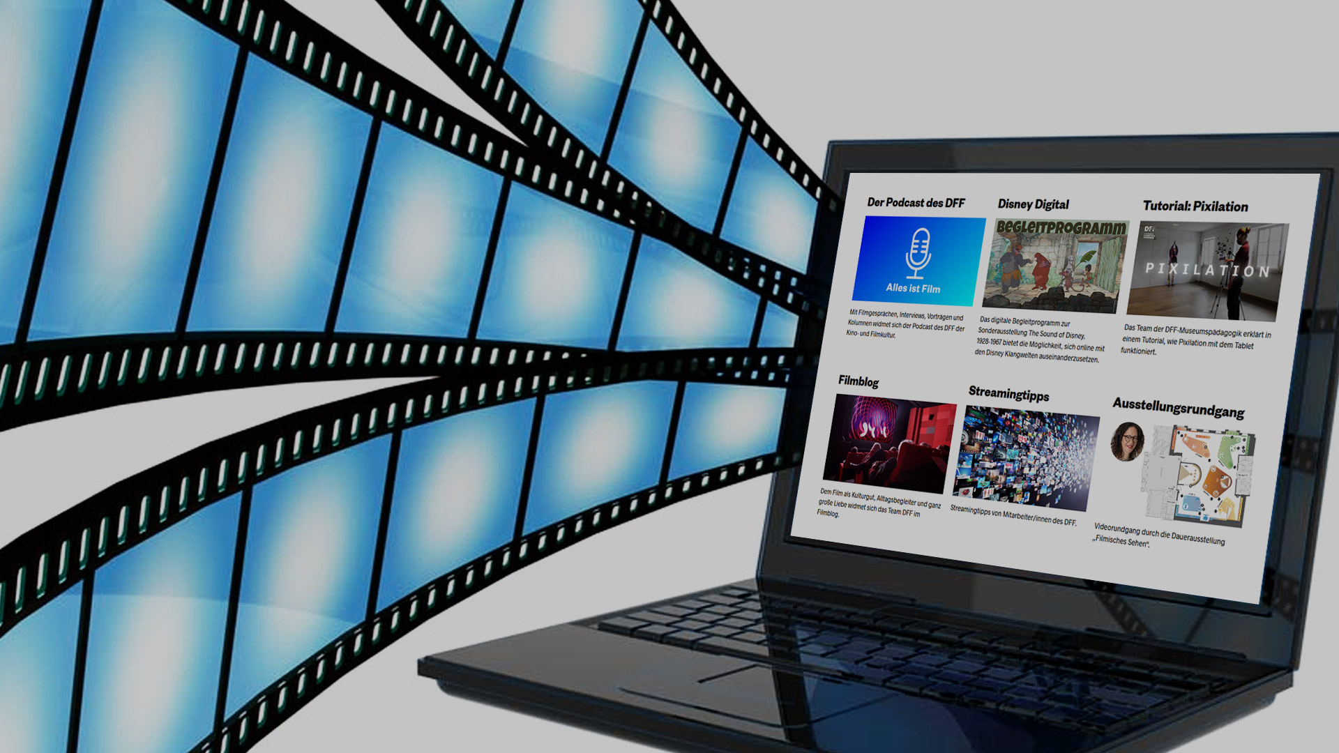 Filmkultur online: Digitale Angebote des DFF