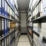 Foto Ein Archivraum des DFF