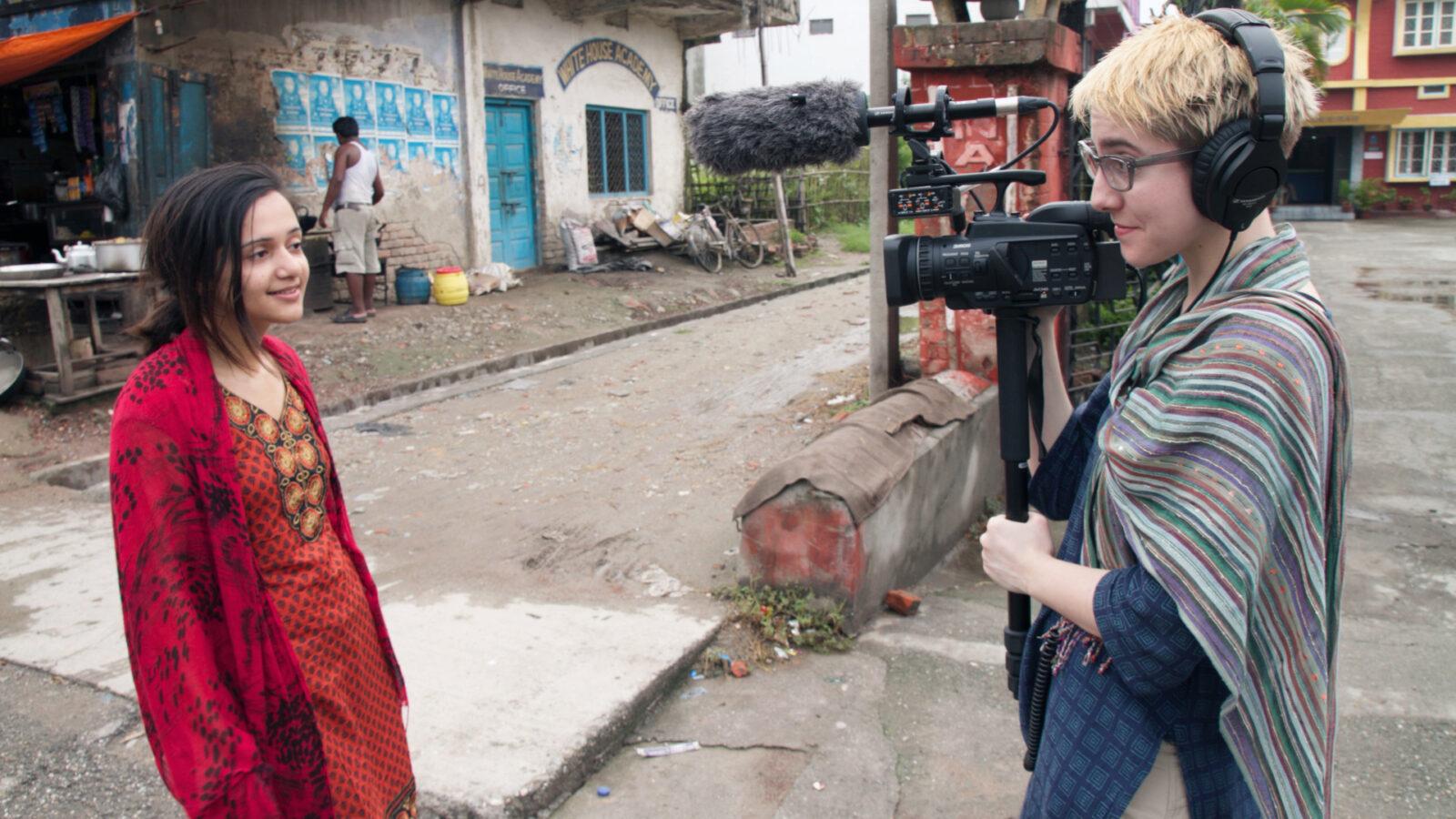 Filmstill aus YOUTH UNSTOPPABLE - DER AUFSTIEG DER GLOBALEN JUGEND-KLIMABEWEGUNG (CA 2019, R: Slater Jewell-Kemker)