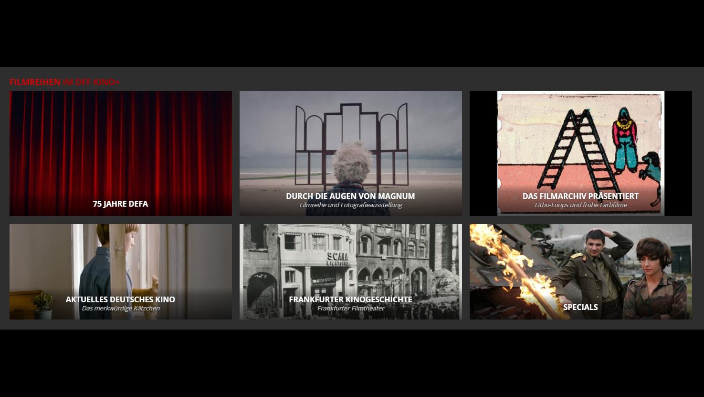 Screenshot DFF Kino+