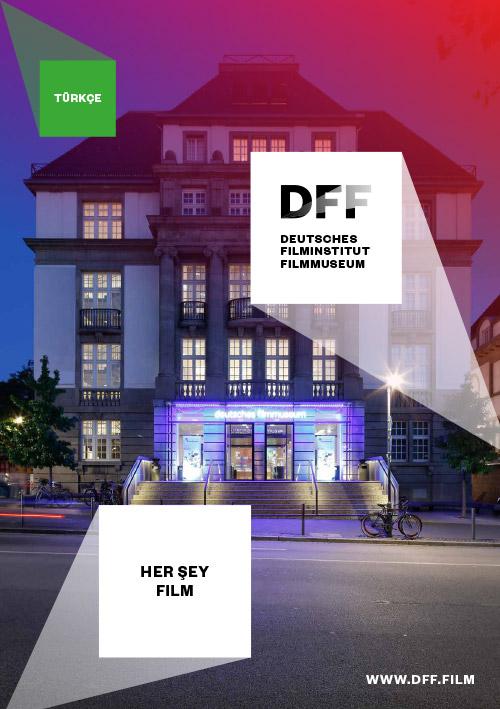 """Cover """"DFF Floorplan Dauerausstellung Türkisch"""""""