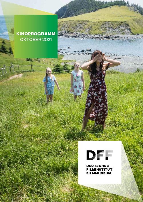 DFF Kinoprogramm Flyer Oktober 2021: Cover